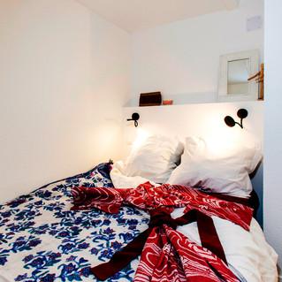 Rénovation appartement 4 piéces sous comble, chambre