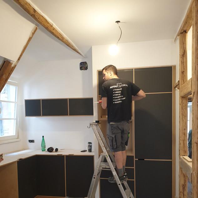 Installation cuisine sur mesure