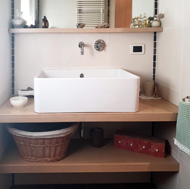 Rénovation salle d'eau, Trento, Italie