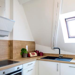 Rénovation appartement 4 piéces sous comble, cuisine