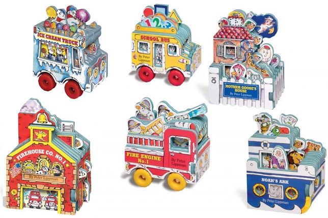 Mini House & Wheels Books