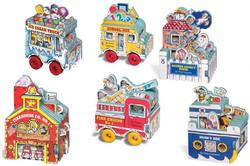 Mini House & Wheels Books