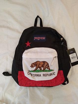 תיק גב ג'נספורט JANSPORT SUPER BREAK CALIFORNIA REPUBLIC