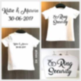 gepersonaliseerde set: ring security shirt en koffertje