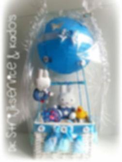 hot air balloon, kraamcadeau