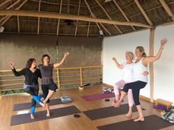 partner yoga Mexico 2017