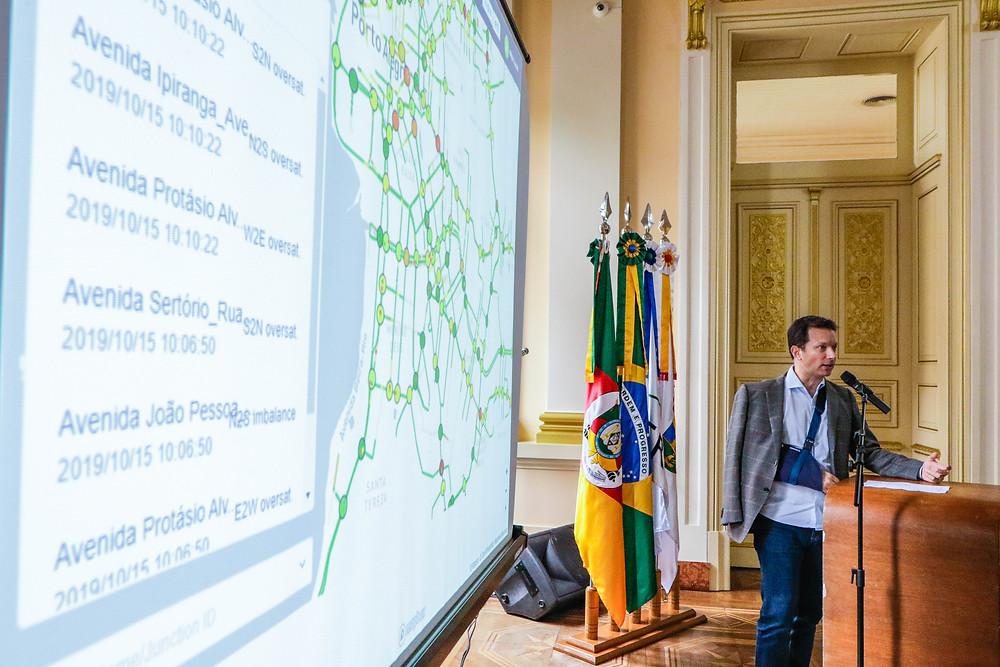 Prefeitura terá sistema inédito no país para qualificar trânsito | Foto: Ricardo Giusti/PMPA
