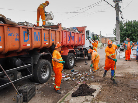 Bota-Fora recolhe 95,51 toneladas de resíduos no mês de junho