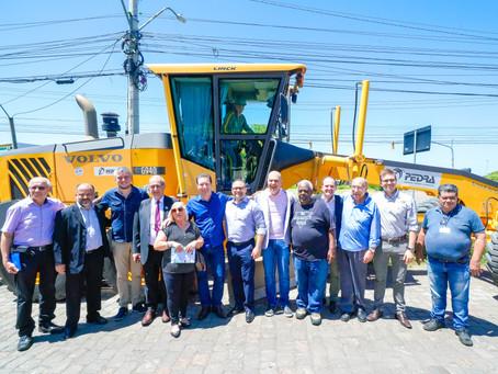 José Pedro Boéssio recebe obras de infraestrutura e pavimentação