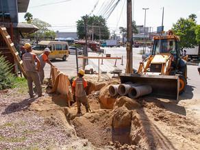 Dmae inicia reconstruções de rede pluvial nas zonas Sul e Norte