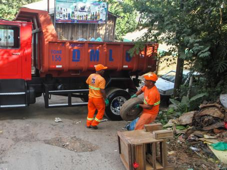 Bota-Fora recolhe 162 toneladas de resíduos em março