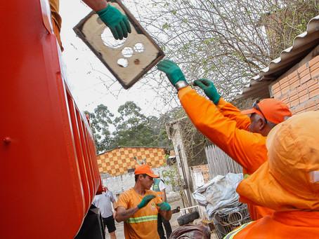 Bota-Fora recolhe 78 toneladas de resíduos no mês de outubro