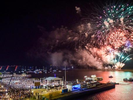 Chegada de 2020 é celebrada na Orla por cerca de 160 mil pessoas