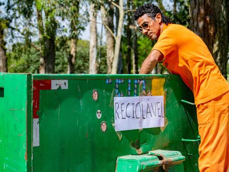 Ecoponto Móvel coleta 1,74 tonelada de material na Restinga