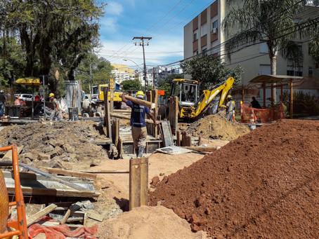 Autorizado cercamento de praça para obras do Arroio Areia