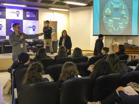 Dmae realiza palestra sobre consciência ambiental