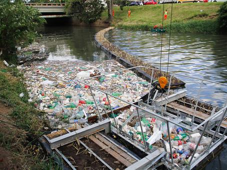 Ecobarreira recolhe mais de 500 toneladas de resíduos