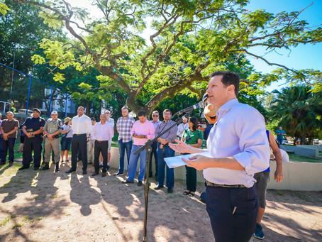 Bairro Petrópolis recebe a Praça Nações Unidas renovada