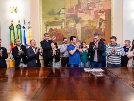 Assinado convênio que integra serviço de esgotos pluviais ao Dmae