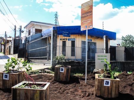 Bairro Partenon recebe três Plantios Urbano Sustentáveis