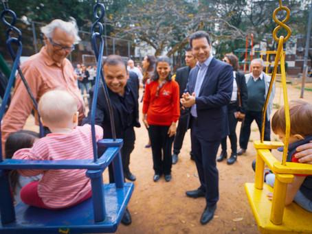 Prefeitura inicia revitalização de praça em Petrópolis