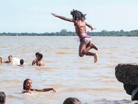 Praias de Lami e Belém Novo estão próprias para banho
