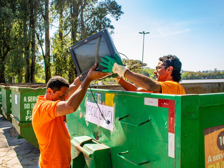 Ecoponto Móvel coleta quase 600 quilos de material descartado