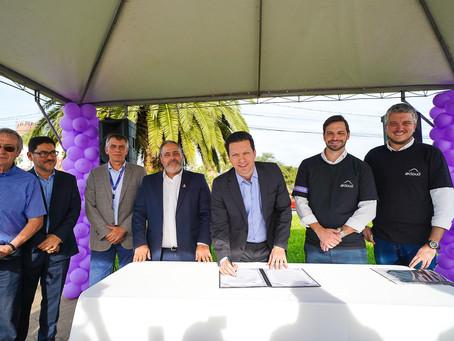Empresa revitalizará Largo da Vida e canteiro da Carlos Gomes