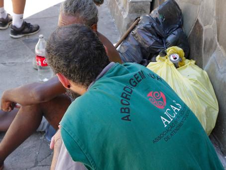 Ação retira moradores da beira do Arroio Dilúvio