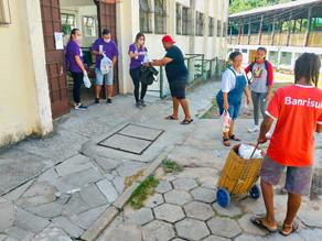 Prefeitura recebe doações de alimentos para famílias carentes