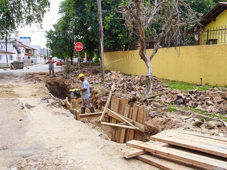 Reconstruções pluviais no bairro Rubem Berta estão em fase final