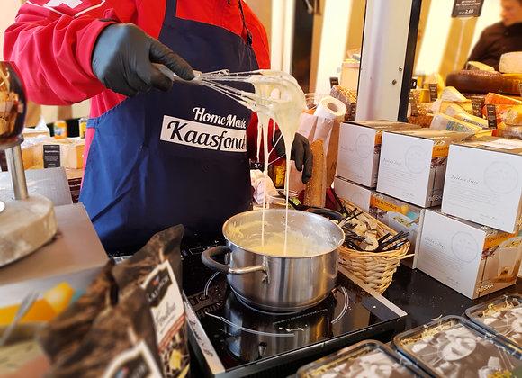 Zwitserse Kaasmix Voor De Fondue