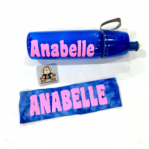 Water Bottle & Headband Bundle