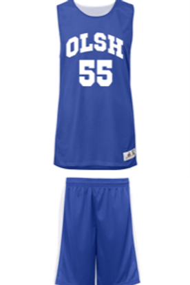 OLSH Reversible Challenger Basketball Jersey & Short Set