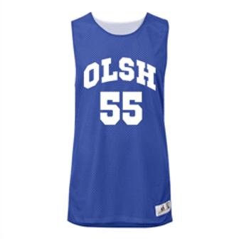 OLSH Reversible Challenger Basketball Jersey