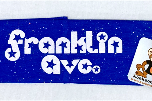 FRANKLIN AVE GIRLS GLITTER HEADBAND