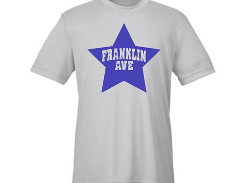 FRANKLIN AVE SHORT SLEEVE DRI-FIT TEE