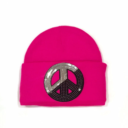 Mile-Away Cuff Beanie w/Single Large Patch