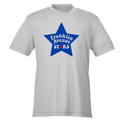 FRANKLIN AVE SHORT SLEEVE DRI-FIT TEE - FRANKLIN AVE STARS