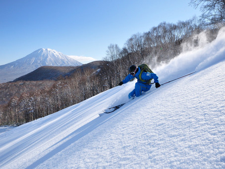 Back-country and safety as a Niseko winter staff