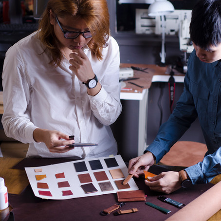 Texture over polish. The passion behind a Malaysian's leather-crafting trade.