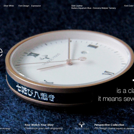 New Customize Engraving Watch Collection - Perspecitive by Madroc Hood