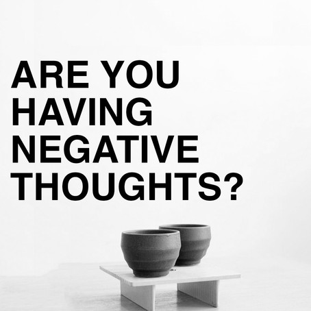 How to remove negative thoughts?