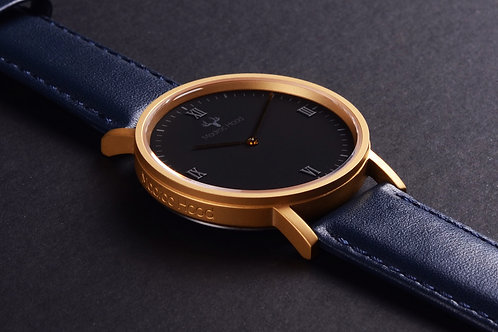 Royal Matte Gold (Gold Minimalist Watch)
