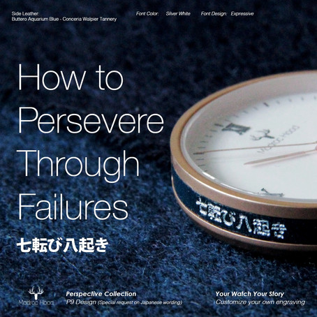 How to persevere through failures