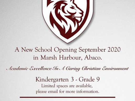 New School Opening in Abaco