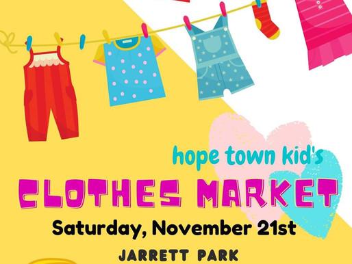First Children's Clothing Market