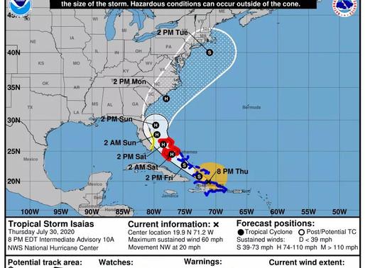 Hope Town Begins Storm Prep