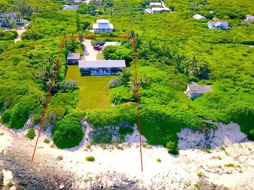 Gates Point | Hope Town | Elevated Beachfront | $1,495,000