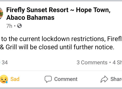 Firefly Sunset Resort Closes Until Further Notice